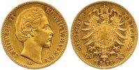 20 Mark Gold 1873  D Bayern Ludwig II. 1864-1886. Kleine Kratzer, sehr ... 385,00 EUR