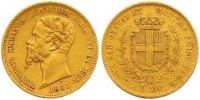 20 Lire Gold 1851 Italien-Sardinien Vittorio Emanuele II. 1849-1878. Se... 275,00 EUR