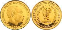 50 Francs Gold 1966 Elfenbeinküste Republik. Seit 1960. Winzige Kratzer... 575,00 EUR