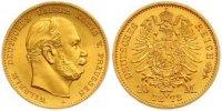 10 Mark Gold 1872  A Preußen Wilhelm I. 1861-1888. Fast Stempelglanz  255,00 EUR