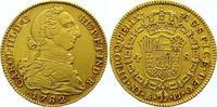 4 Escudos Gold 1782  PJ Spanien Carlos III. 1759-1788. Sehr schön +  725,00 EUR