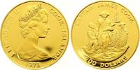 200 Dollars Gold 1978 Cook Islands Elizabeth II. seit 1952. Polierte Pl... 625,00 EUR
