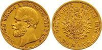 20 Mark Gold 1875  A Braunschweig Wilhelm 1830-1884. Sehr schön +  1575,00 EUR kostenloser Versand