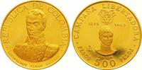500 Pesos Gold 1969  B Kolumbien Republik seit 1886. Kratzer, Polierte ... 850,00 EUR  zzgl. 7,00 EUR Versand