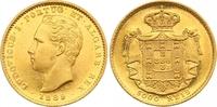 5000 Reis Gold 1869 Portugal Luis I. 1861-1889. Fast Stempelglanz  785,00 EUR  zzgl. 7,00 EUR Versand
