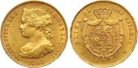 10 Escudos Gold 1868 Spanien Isabel II. 1833-1868. Kl. Randverprägung, ... 390,00 EUR  zzgl. 7,00 EUR Versand