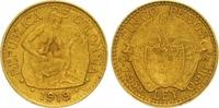 5 Pesos Gold 1919 Kolumbien Republik seit 1886. Sehr schön  335,00 EUR  zzgl. 7,00 EUR Versand