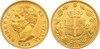 20 Lire Gold 1885  R Italien-Königreich Umberto I. 1878-1900. Winziger ... 265,00 EUR  zzgl. 7,00 EUR Versand