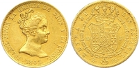 80 Reales Gold 1841  B Spanien Isabel II. 1833-1868. Winziger Randfehle... 285,00 EUR  zzgl. 7,00 EUR Versand
