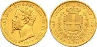20 Lire Gold 1851 Italien-Sardinien Vittorio Emanuele II. 1849-1878. Se... 325,00 EUR  zzgl. 7,00 EUR Versand