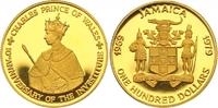 100 Dollars Gold 1979 Jamaika Elizabeth seit 1952. Polierte Platte  450,00 EUR  zzgl. 7,00 EUR Versand