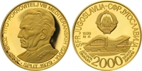 2000 Dinars Gold 1978 Jugoslawien Volksrepublik. Polierte Platte  460,00 EUR  zzgl. 7,00 EUR Versand