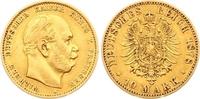 10 Mark Gold 1878  A Preußen Wilhelm I. 1861-1888. Winziger Randfehler,... 175,00 EUR  zzgl. 7,00 EUR Versand