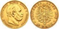 10 Mark Gold 1878  A Preußen Wilhelm I. 1861-1888. Sehr schön  175,00 EUR  zzgl. 7,00 EUR Versand