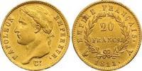 Frankreich 20 Francs Gold Napoleon I. 1804-1814, 1815.