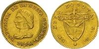 Peso Gold 1844 Kolumbien Republik Nueva Granada 1837-1859. Minimale Jus... 325,00 EUR  zzgl. 7,00 EUR Versand