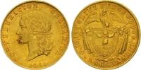 10 Pesos Gold 1861 Kolumbien Granadine Confederation 1859-1862. Kl. Ran... 1950,00 EUR kostenloser Versand