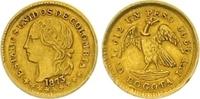 Peso Gold 1873 Kolumbien Vereinigte Staaten von Kolumbien 1862-1886. Se... 375,00 EUR  zzgl. 7,00 EUR Versand