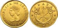 Escudo Gold 1824  FM Kolumbien Republik seit 1886. Vorzüglich +  525,00 EUR  zzgl. 7,00 EUR Versand