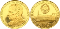 5000 Dinars Gold 1978 Jugoslawien Volksrepublik. Polierte Platte  1250,00 EUR kostenloser Versand