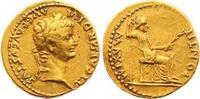 Gold  14-37 n. Chr. Kaiserzeit Tiberius 14-37. Fast vorzüglich  3950,00 EUR kostenloser Versand