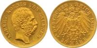 20 Mark Gold 1894  E Sachsen Albert 1873-1902. Winziger Randfehler, vor... 525,00 EUR  zzgl. 7,00 EUR Versand