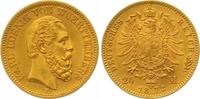 20 Mark Gold 1873  F Württemberg Karl 1864-1891. Vorzüglich +  550,00 EUR  zzgl. 7,00 EUR Versand