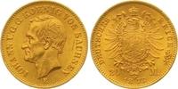 20 Mark Gold 1873  E Sachsen Johann 1854-1873. Winziger Randfehler, kle... 625,00 EUR  zzgl. 7,00 EUR Versand