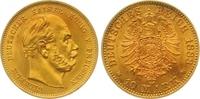 10 Mark Gold 1888  A Preußen Wilhelm I. 1861-1888. Vorzüglich - Stempel... 350,00 EUR  zzgl. 7,00 EUR Versand
