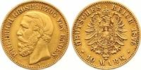 10 Mark Gold 1875  G Baden Friedrich I. 1856-1907. Sehr schön +  265,00 EUR  zzgl. 7,00 EUR Versand