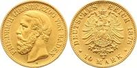 10 Mark Gold 1878  G Baden Friedrich I. 1856-1907. Sehr schön +  265,00 EUR  zzgl. 7,00 EUR Versand