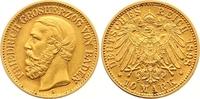 10 Mark Gold 1898  G Baden Friedrich I. 1856-1907. Winziger Randfehler,... 345,00 EUR  zzgl. 7,00 EUR Versand