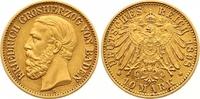 10 Mark Gold 1898  G Baden Friedrich I. 1856-1907. Winziger Kratzer, se... 300,00 EUR  zzgl. 7,00 EUR Versand
