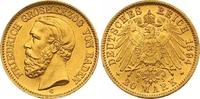 20 Mark Gold 1894  G Baden Friedrich I. 1856-1907. Winziger Randfehler,... 625,00 EUR  zzgl. 7,00 EUR Versand