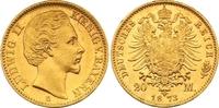 20 Mark Gold 1873  D Bayern Ludwig II. 1864-1886. Winzige Kratzer, vorz... 585,00 EUR  zzgl. 7,00 EUR Versand