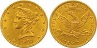 10 Dollars Gold 1907 Vereinigte Staaten von Amerika  Vorzüglich - Stemp... 775,00 EUR  zzgl. 7,00 EUR Versand