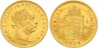 4 Gulden = 10 Francs 1884 Haus Habsburg Franz Joseph I. 1848-1916. Klei... 325,00 EUR  zzgl. 7,00 EUR Versand