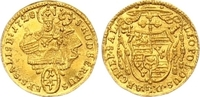 1/4 Dukat Gold 1728 Salzburg, Erzbistum Leopold Anton Eleutherius von F... 325,00 EUR  zzgl. 7,00 EUR Versand
