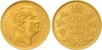 10 Dinara Gold 1882 Jugoslawien-Serbien Michail Obrenovich IV. (Milan I... 195,00 EUR  zzgl. 7,00 EUR Versand