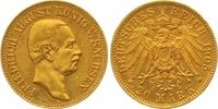 20 Mark Gold 1905  E Sachsen Friedrich August III. 1904-1918. Fast vorz... 465,00 EUR  zzgl. 7,00 EUR Versand