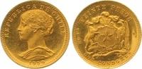 20 Pesos Gold 1959 Chile Republik. Seit 1818. Fast Stempelglanz  165,00 EUR  zzgl. 7,00 EUR Versand