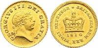 Third Guinea Gold 1810 Großbritannien George III. 1760-1820. Winzige Sc... 775,00 EUR  zzgl. 7,00 EUR Versand