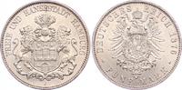 5 Mark 1876  J Hamburg  Vorzüglich - Stempelglanz  1875,00 EUR kostenloser Versand