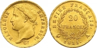 20 Francs Gold 1811  A Frankreich Napoleon I. 1804-1814, 1815. Am Rand ... 650,00 EUR  zzgl. 7,00 EUR Versand