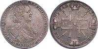 Sonnenrubel 1725 Russland Peter der Große 1689-1725. Sehr schön +  3850,00 EUR kostenloser Versand