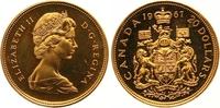 20 Dollars Gold 1967 Kanada Elizabeth II. Seit 1952. Etui und Zertifika... 700,00 EUR  zzgl. 7,00 EUR Versand