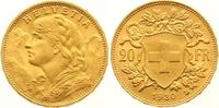 20 Franken Gold 1930  B Schweiz-Eidgenossenschaft  Vorzüglich - Stempel... 275,00 EUR  zzgl. 7,00 EUR Versand