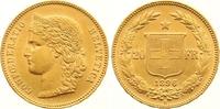 20 Franken Gold 1896  B Schweiz-Eidgenossenschaft  Winzige Kratzer, vor... 265,00 EUR  zzgl. 7,00 EUR Versand