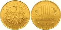 100 Schilling Gold 1931 Österreich Erste Republik 1918-1938. Vorzüglich... 975,00 EUR  zzgl. 7,00 EUR Versand