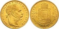 8 Gulden = 20 Francs Gold 1884  KB Haus Habsburg Franz Joseph I. 1848-1... 320,00 EUR  zzgl. 7,00 EUR Versand